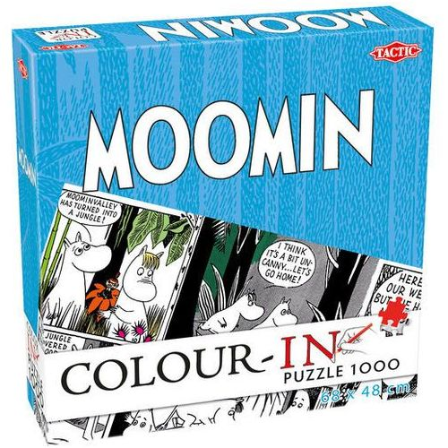 Puzzle Moomin Color-in do kolorowania 1000 -