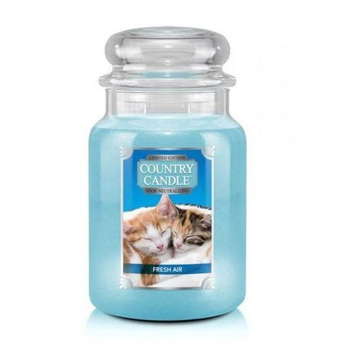 Kringle candle Country candle świeca fresh air kitten 680g