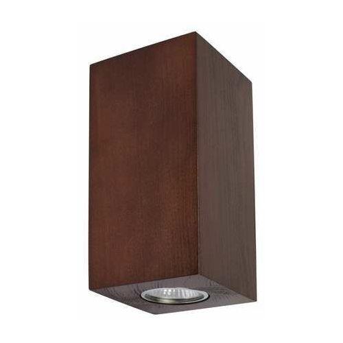 Spot light wooddream wall 2571276 kinkiet lampa ścienna 1x5w gu10 brązowy