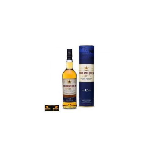 Whisky highland queen majesty 12yo 0,7l w tubie marki Edrington group ltd.