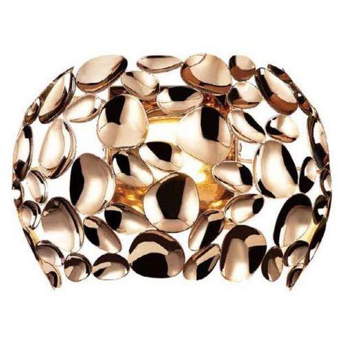 Orlicki design Kinkiet lampa ścienna carera parete gold metalowa oprawa dekoracyjna led 7w 3000k ferrara złota (1000000335347)