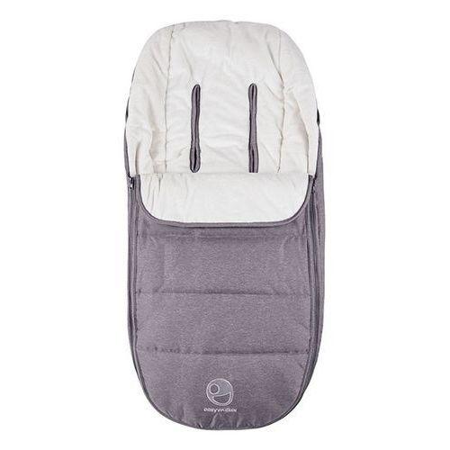 Śpiworek do wózka na zimę uniwersalny harvey - steel grey eha10304 marki Easywalker