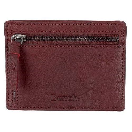 Bench Portfel - leather card & coin holder buffalo brown tan (br11357) rozmiar: os