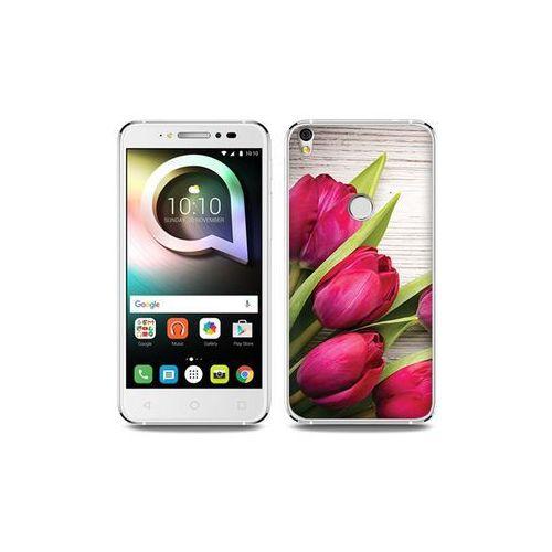 Alcatel Shine Lite - etui na telefon Foto Case - czerwone tulipany