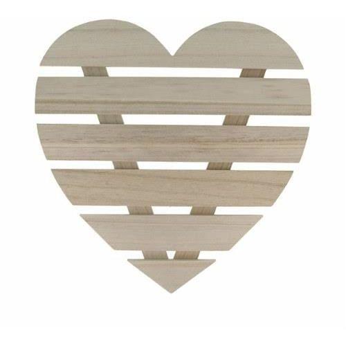 Artemio Drewniane serce 30x30 cm - rękodzieło