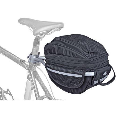 Torba i bagażnik na sztycę LitePack 6 czarna, 309676