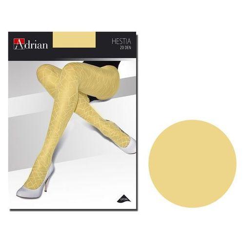 Adrian Rajstopy wzorzyste hestia żółte
