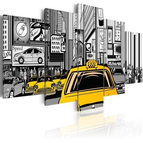 Artgeist Obraz - taksówka z komiksu