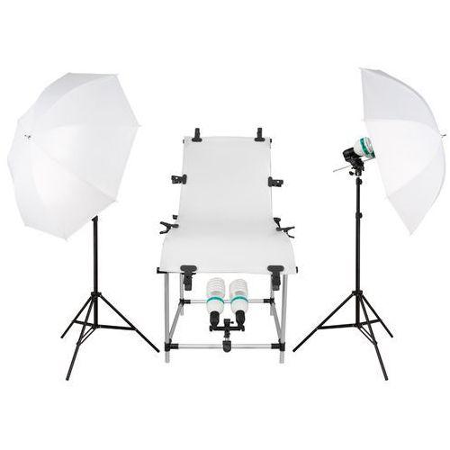 Freepower  stół bezcieniowy 3x800w do fotografii produktowej white