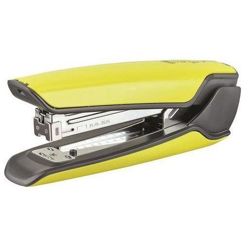 Zszywacz KANGARO Nowa-335S/S, zszywa do 30 kartek, metalowy, w pudełku PP, żółty, KAN335S/S-06