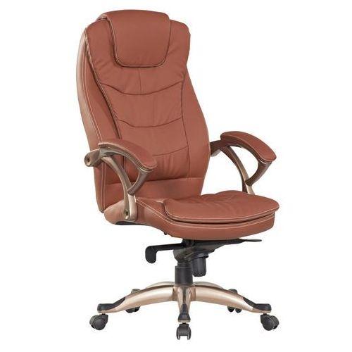 Fotel biurowy Q-065 brązowy, 2937