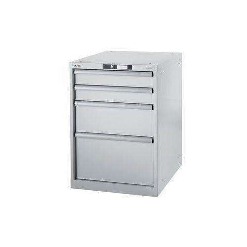 Lista Stół warsztatowy w systemie modułowym, szafka dolna,wys. 800 mm, 4 szuflady