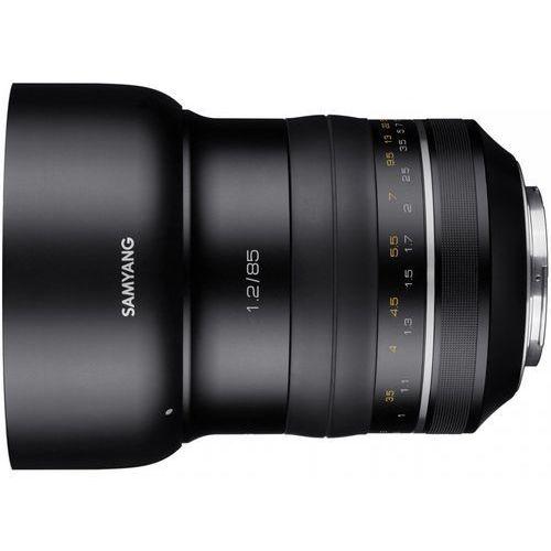 Obiektyw  samyang premium xp 85mm f1.2 canon ae - sam000233 darmowy odbiór w 20 miastach! marki Samyang