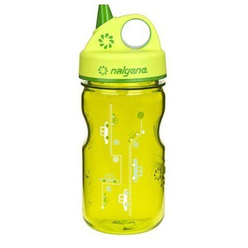 Butelka dla dzieci NALGENE Grip´n Gulp 350 ml, Zielony szlak