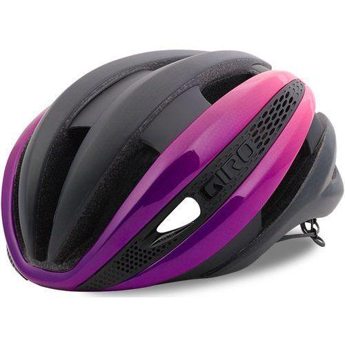Giro synthe mips kask rowerowy różowy/czarny l | 59-63cm 2018 kaski rowerowe (0768686738913)