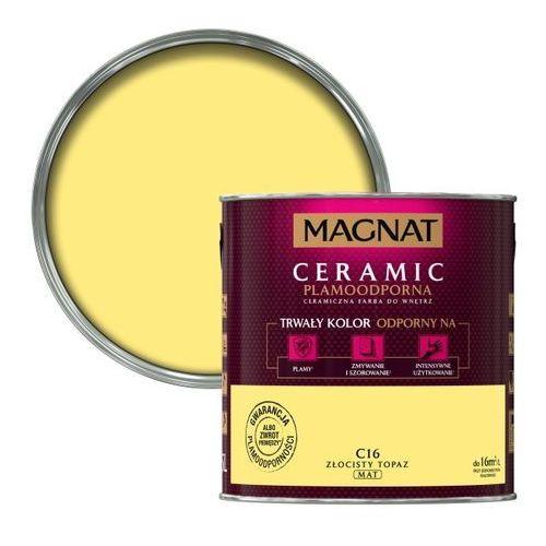 Farba Magnat Ceramic złocisty topaz 2,5 l