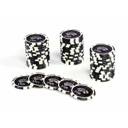 Poker nominały żetonów 50 sztuk - Żetony do pokera
