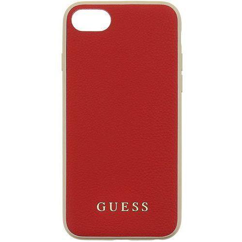 etui iridescent apple iphone 6/6s/7, czerwony marki Guess