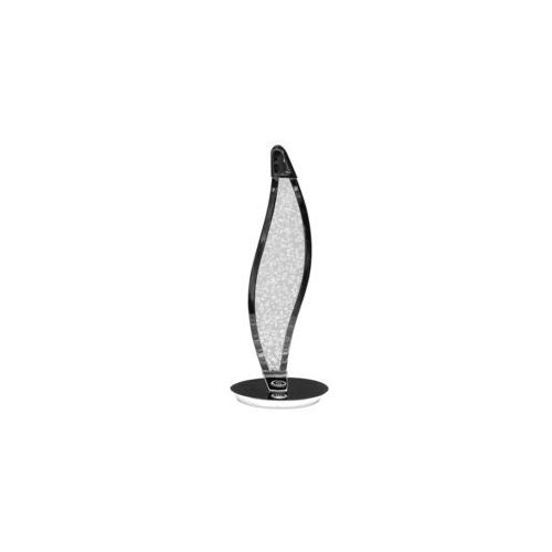 Beliani Lampa stołowa led srebrna bugun (4251682216791)