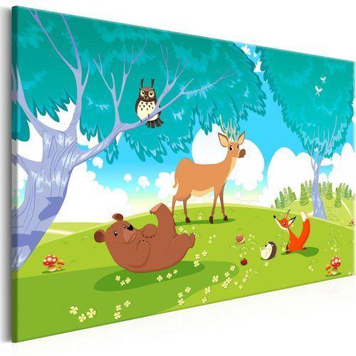 Artgeist Obraz - przyjazne zwierzęta (1-częściowy) szeroki