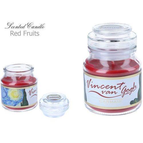 Świeczka zapachowa american mały - V. Van Gogh. Red Fruit