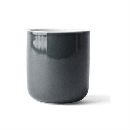 Menu Kubek termiczny porcelanowy new norm, carbon -