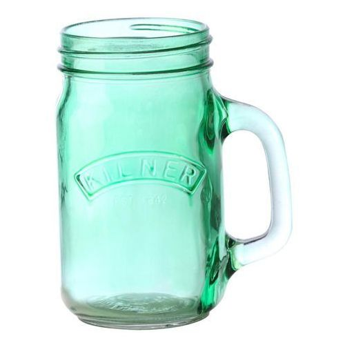 Słoik z uchwytem Kilner kolorowe szkło zielony (5010853201252)