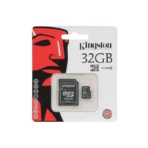 Karta pamięci microsdhc 32gb class 10 marki Kingston