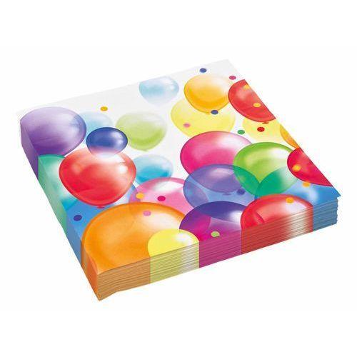 Serwetki urodzinowe Baloniki - 33 cm - 20 szt. (0013051625733)