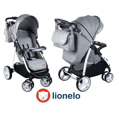Lionelo  - wózek spacerowy elise - szary - 51709