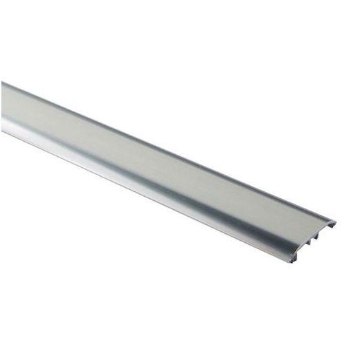 Goodhome Profil progowy aluminiowy 4 w 1 37 x 1800 mm srebrny