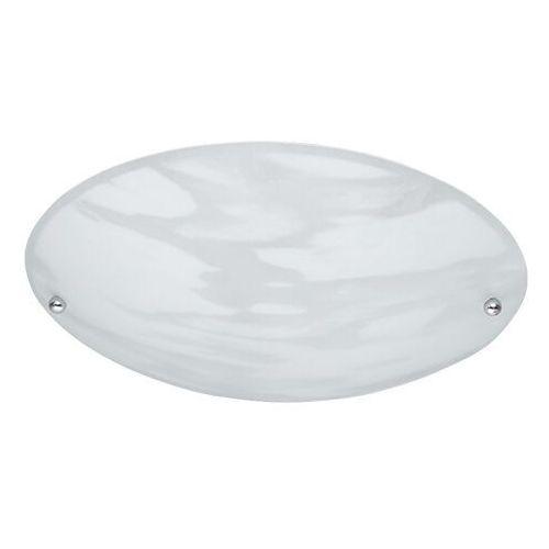 Trio 6196 lampa sufitowa aluminium, biały, 1-punktowy - nowoczesny/dworek - obszar wewnętrzny - lana - czas dostawy: od 3-6 dni roboczych