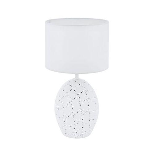 Eglo montalbano 98382 lampka lampa stołowa biurkowa 1x60w e27 biała