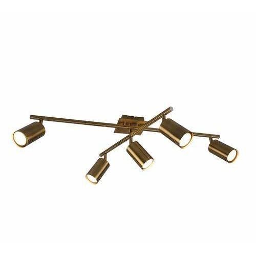 marley 612400504 plafon lampa sufitowa 5x35w gu10 patyna marki Trio