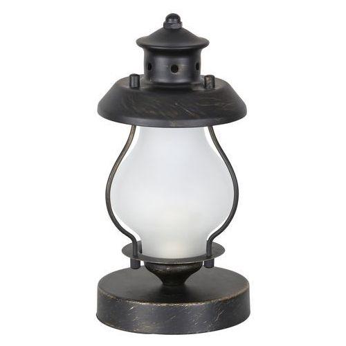 Lampa stołowa lampka Rabalux Victorio 1x40W E14 antyczne złoto 7346, 7346