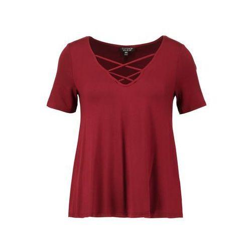 Topshop Tshirt basic burgundy
