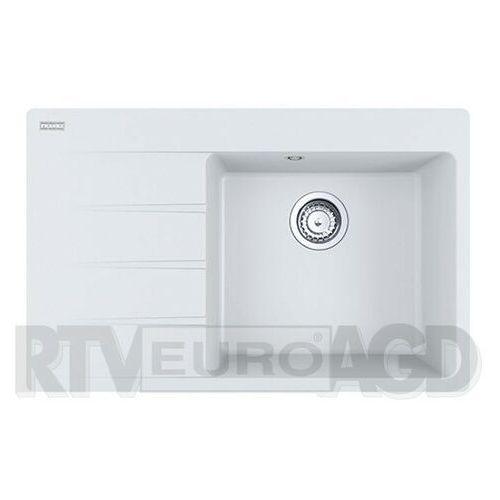 Franke Centro CNG 611-78 TL - prawa komora (biały polarny), kolor biały