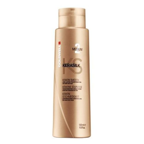 Goldwell Kerasilk Keratin Smooth Medium Treatment | Keratynowy zabieg prostowania 500ml