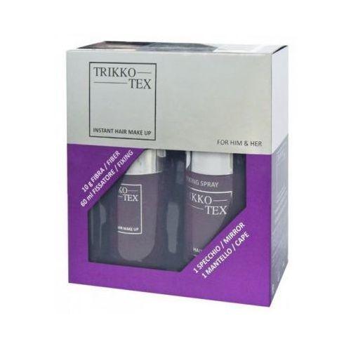 Trikkotex 60ml+10g zestaw zagęszczanie włosów mikrowłókna marki Trikko-tex