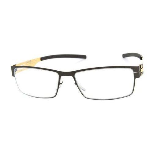 Ic! berlin Okulary korekcyjne  xm0070 peter c. black