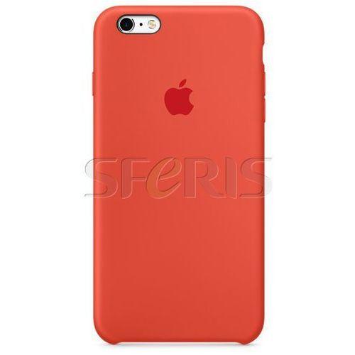Apple  mkxq2bz/a silicone case phone 6s plus orange