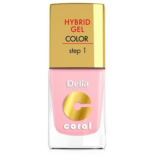 Delia Cosmetics Coral Hybrid Gel Emalia do paznokci nr 04 róż pastelowy 11ml - Delia OD 24,99zł DARMOWA DOSTAWA KIOSK RUCHU