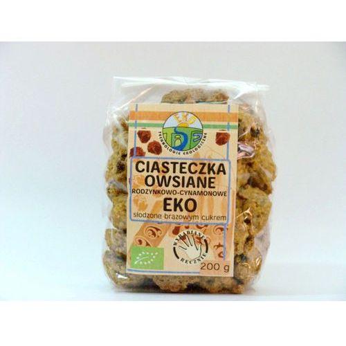 Tast : ciasteczka owsiane cynamonowo-rodzynkowe bio - 200 g (5906961497420)