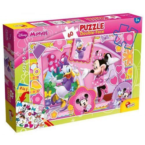 Puzzle dwustronne plus Minnie 60