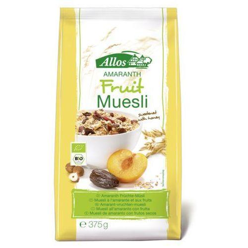 Allos Musli amarantusowo-owocowe bio 375 g -