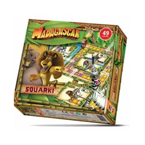 Gra Squarki Madagascar