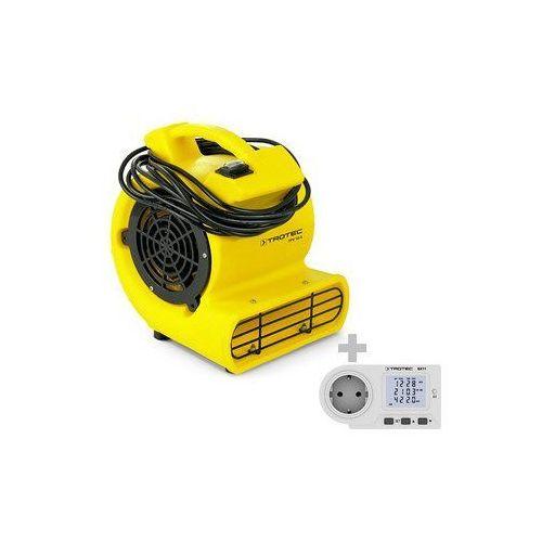 Turbowentylator tfv 10 s + miernik kosztów zużycia energii bx11 marki Trotec