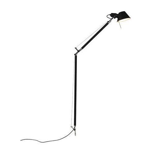 Lampa podłogowa czarna obudowa - tolomeo lettura marki Artemide
