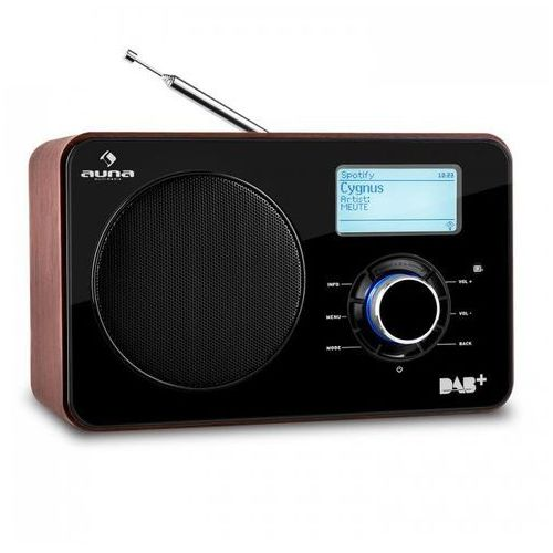 Auna Worldwide radio internetowe wi-fi/lan dab/dab+ ukw tuner usb aux alarm