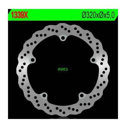NG1339X TARCZA HAMULCOWA HONDA CB 650F '14-'15, CTX 700 '13-'15 (320X5) (5X10MM)
